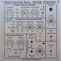 NOISE TOASTER - Face Plate